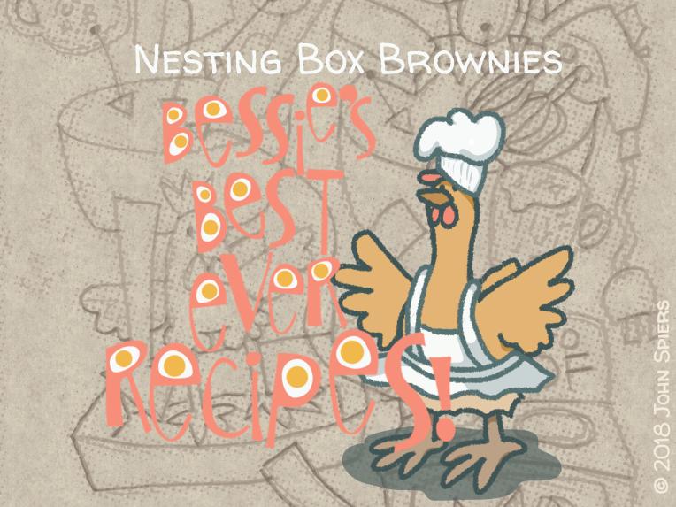 Nesting Box Brownies