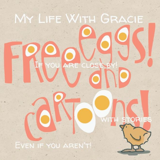 Free Eggs And Free Cartoons!