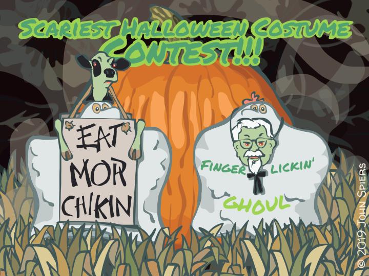 Scariest Halloween Costume Contest